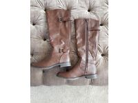 Womens M&S Insolia leather boots