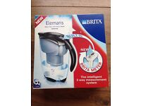 BRITA Elemaris Water Filter Jug - 2.4 L, Black with new built in Brita meter