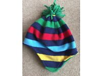 Aged 3-6 fleecy hat