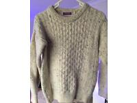 100% Pure Wool Cable Knit Ladies Jumpers