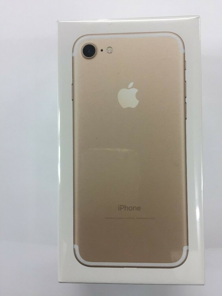 IPHONE 7G 128GB BRAND NEW SEALED GOLD VODAFONE NETWORK 12 MONTH WARRANTY