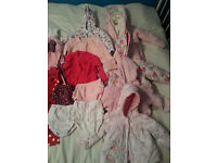 Baby Girls Clothes for sale - 6 - 12 months