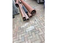 Underground Plastic pipes for sale 150/300mm