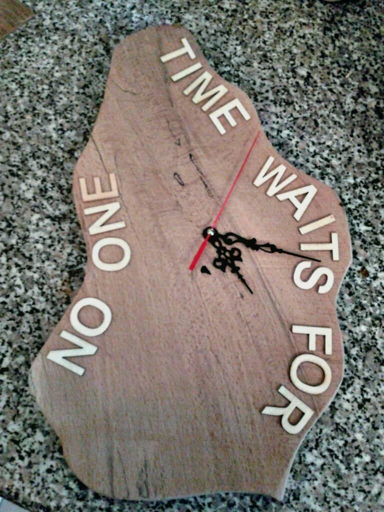 Stunning hand made clock