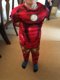 Ironman outfit (3-6 years)