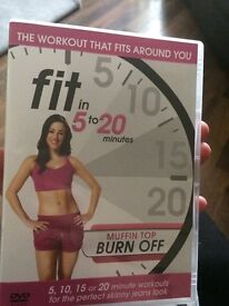 2 --- fit in 5 to 20 minute fitness DVDs