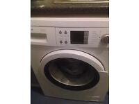bosch washing machine 1400 spin various digital wash cycles in gwo £45