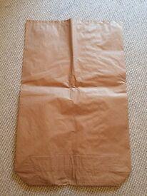 Large Strong Brown Paper Sacks - Craft Sacks - Storage Bags
