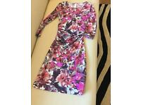 Beautiful flower print Reiss dress size 6