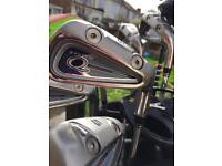 Full Set of Golf Clubs Q Dual System Irons 3-9 PW/SW Driver & Hybrids