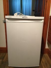Hotpoint Ariston fridge with ice box .. undercounter, 94litre, nearly new!