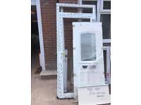 UPVC front door ( new) size 2300 mm h plus cill x 1000 mm
