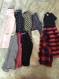 Age 5-6 girls 10 piece bundle from Next, Debenhams etc