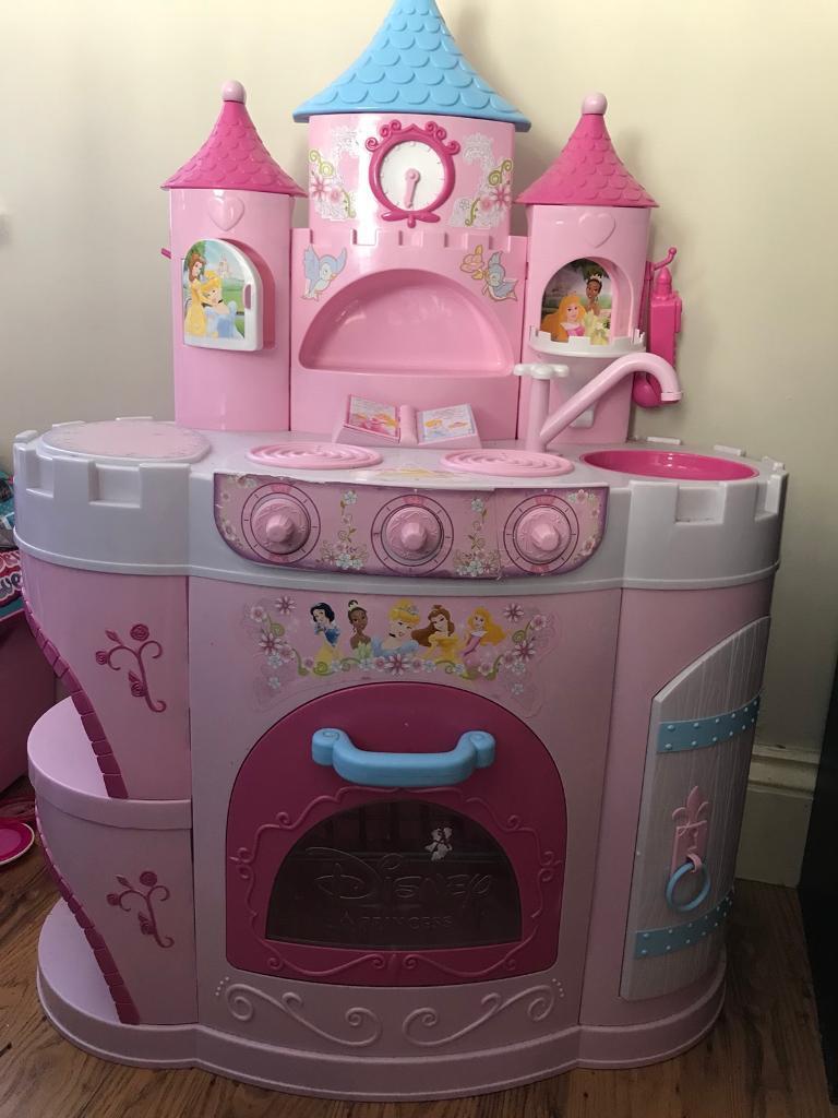 Pink princess kitchen