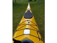 Valley Nordkapp LV Sea Kayak 2012 - carbon kevlar construction + fitted compass + extras