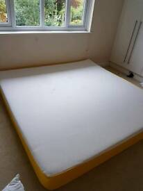 7 foot mattress 215x215cm