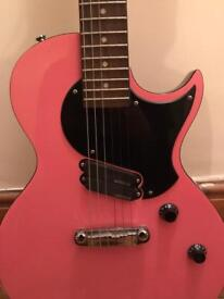 PINK Vintage Zip Electric Guitar Les Paul style body