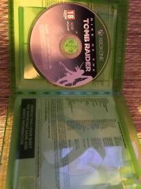 Xbox one tomb rider