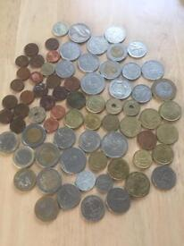 Old foreign coins