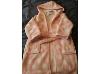 John Lewis Girls Dressing Gown. Size: 6 Years. Very Good Condition