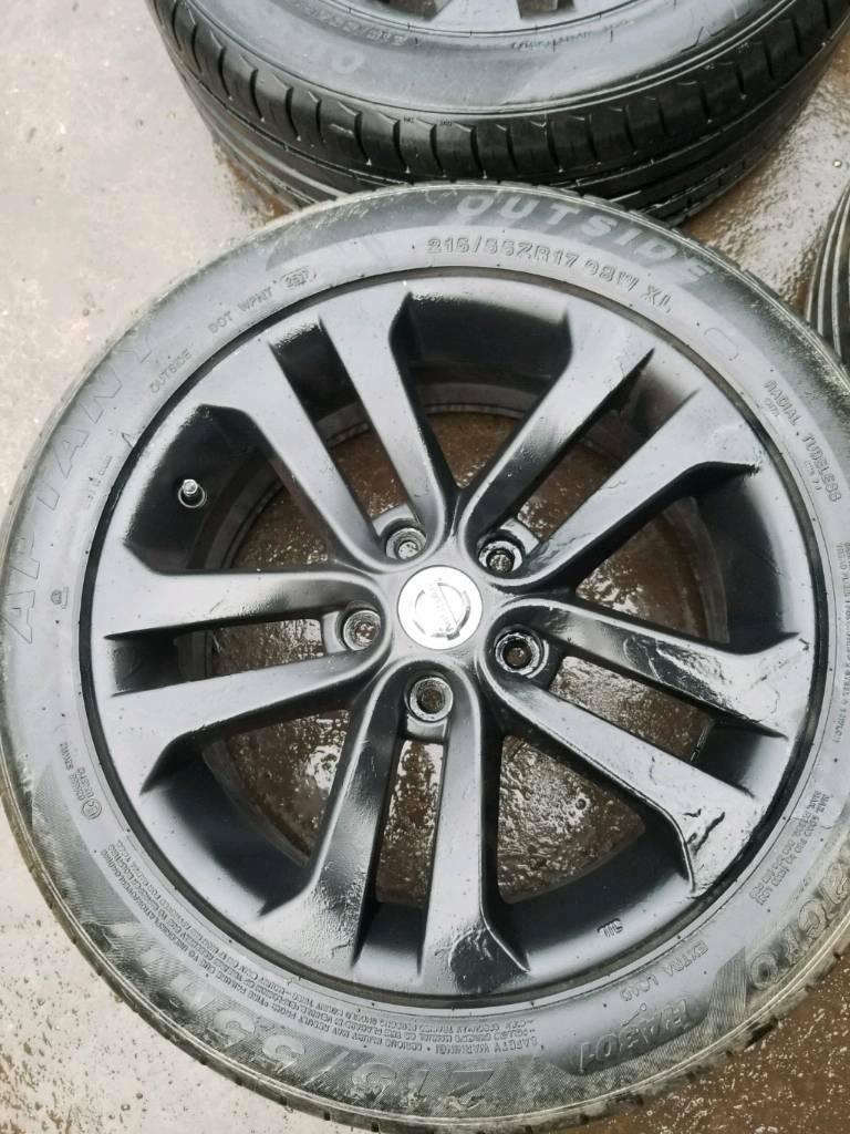 Nissan Juke Tire Size >> Nissan Juke Qashqai Alloy Wheels Set Of 4 In Derby