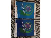 A-Level Psychology books.