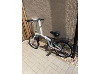 Freespirit Darley white folding bike