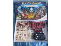 Legend of Zagor Board Game Parker 1993 Vintage RPG Role Playing unused cards and tokens! VERY RARE!