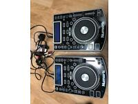Pair of Numarks NDX 400 Professional Tabletop CD/MP3 Players excellent condition