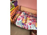 Toddlers cot bed