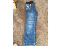 New Look size 14 Materity Slouch fit jeans
