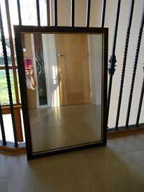 Small Mahogany Mirror