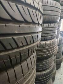 4 x 205/40R17 branded tyres with 5mm minimum Continental