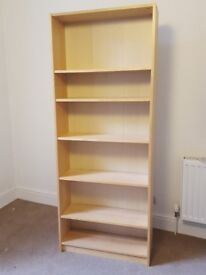 Tall shelves. Great condition. Solid build.