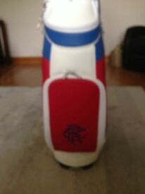 Glasgow Rangers golf bag