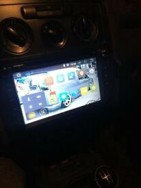 Vw caddy touchscreen cd /dvd player