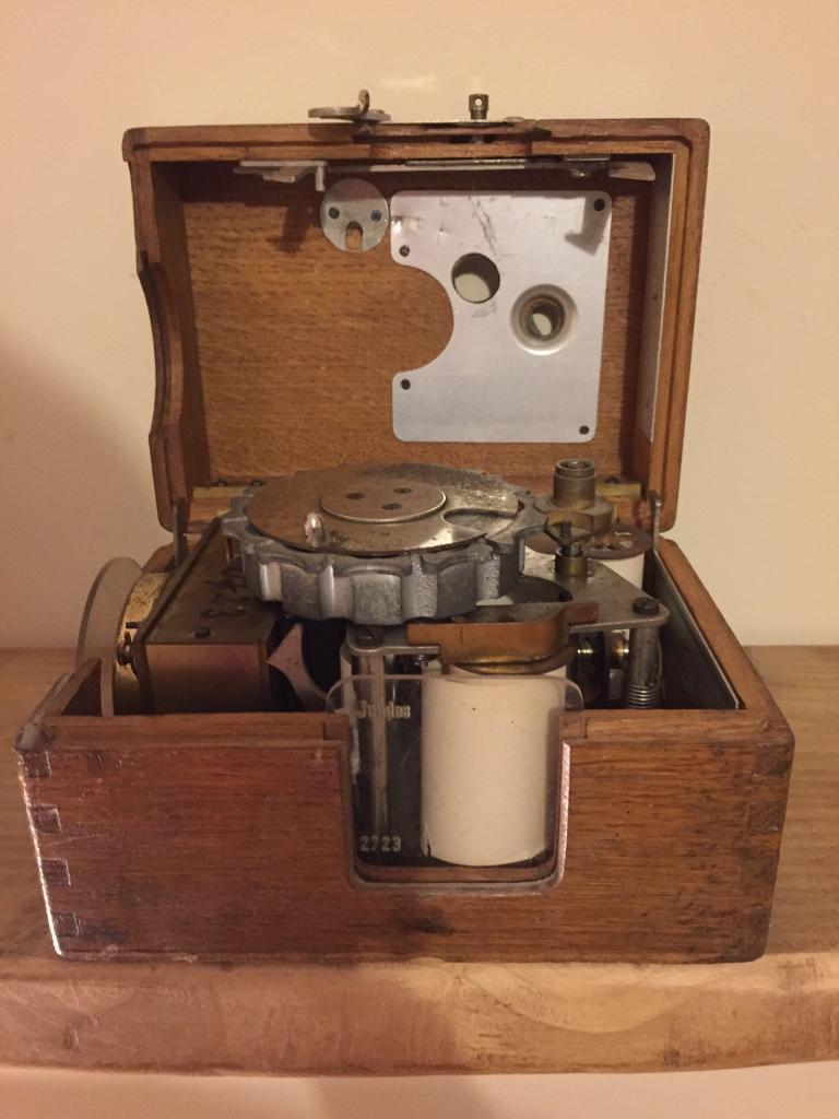 Vintage racing pigeon clock