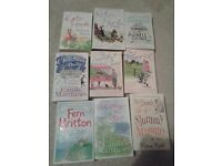 16 romance novels