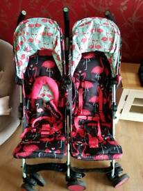Cosatto double buggy (barely used)