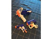 Collection of Nerf Elite Blasters