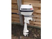 McCulloch 4hp Outboard Motor.