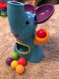 Playskool elephant ball popper