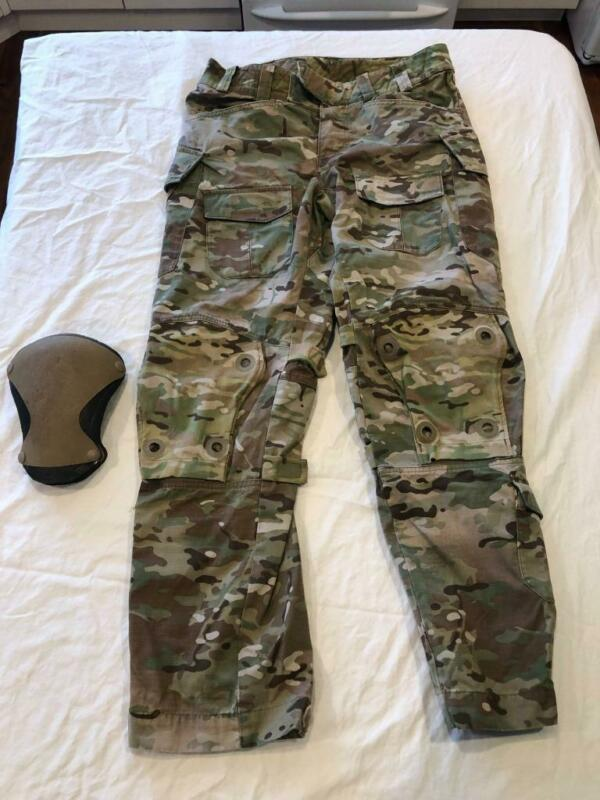 Patagonia Multicam OCP combat pants 34 Reg Special Force w/knee pads level 9