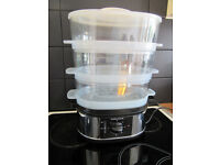 Morphy Richards 3 Tier Stainless Steel Steamer