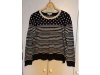 Ladies Stripe/Spot Jumper