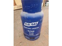 Flo Gas Bottle Cylinder (Empty) 13Kg Butane For Portable Heaters