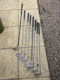 Mixed Set of Irons and 3 Wood