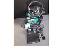 Logitech Driving Force GT PS2, PS3, PC wheel