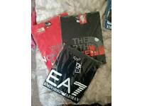 Northface mens tshirts new bargain xxl