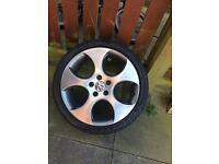 Vw golf GTI monza alloy wheels , vw , audi , seat , skoda , gti , r32